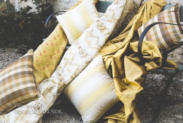 Fabrics - gold