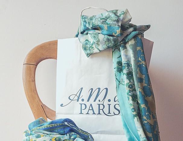 AM DE PARIS scarves 31.3;16