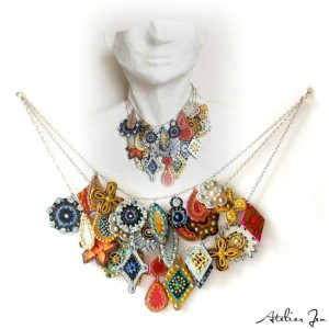 astrielle charm bright necklace