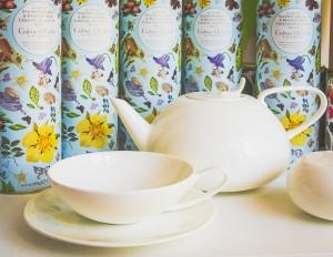 Spring C&E Tea teapot 11.4.17