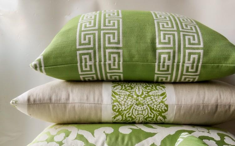 Cushions Green