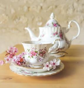 Teacup & Teapot & Blossom